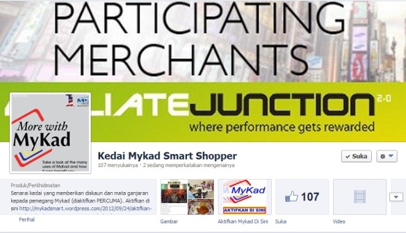 Fan Facebook Kedai Mykad Smart Shopper
